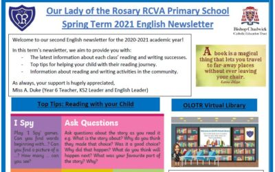 Read more about Spring Term English Newsletter